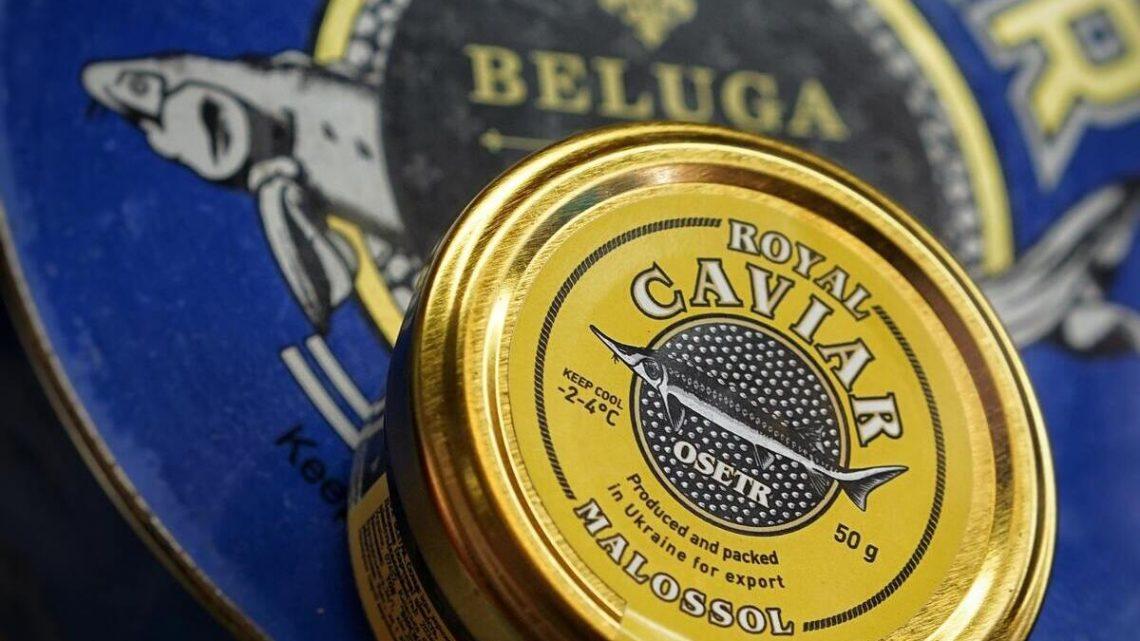 Royal caviar Malossol produit en Ukraine 50 grammes
